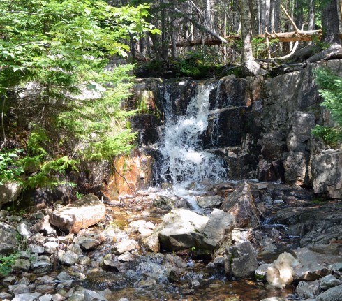 Waterfall into Governor Brook