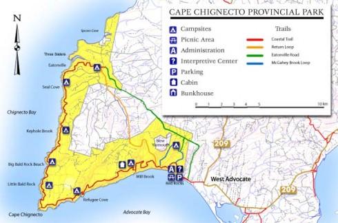 Cape Chignecto Hiking Trail