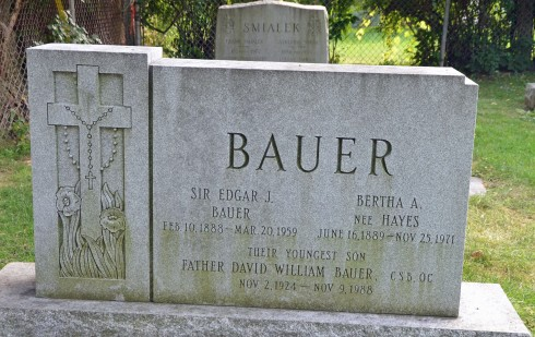 Grave of Father Bauer