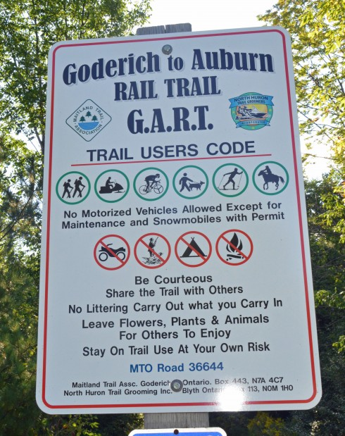 Goderich to Auburn Trail