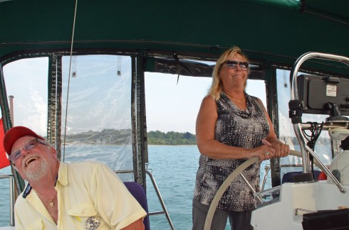 Lorraine at the Helm