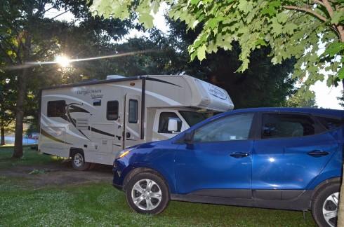 Morning at Nith River Campground