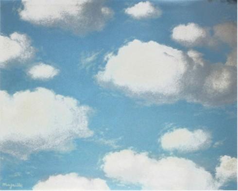 Rene Magritte Sky
