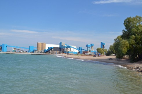 Salt Mine and Beach