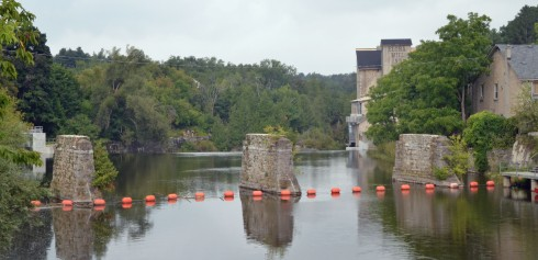 The Grand River at Elora