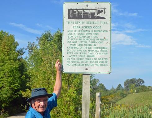 Tiger Dunlop Heritage Trail