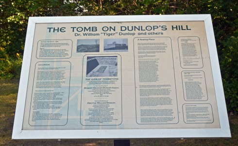 Tomb on Dunlop's Hill
