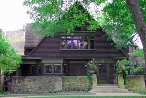 Frank Lloyd Wright Home, 951 Chicago Ave.
