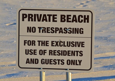 Private Beach, Singer Island
