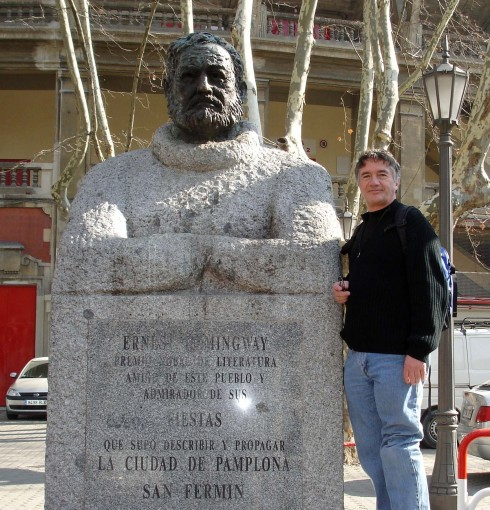 With Hemingway in Pamplona