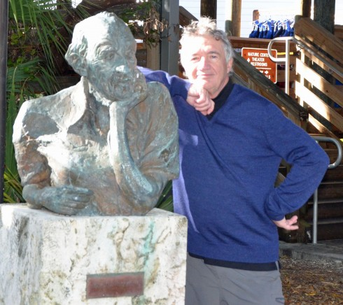 With John D. MacArthur