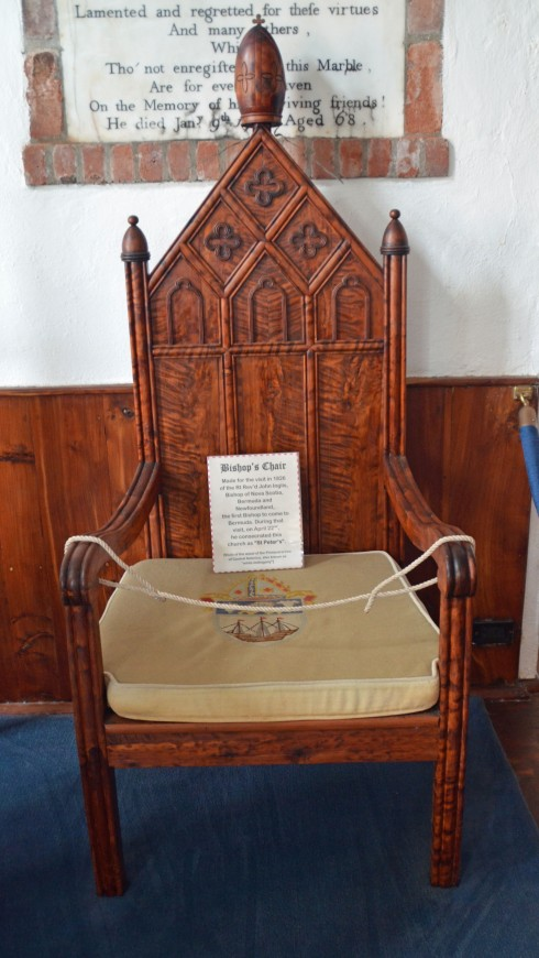 Bishop Inglis' Chair