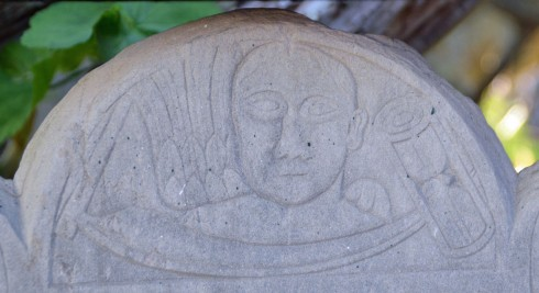 Early Grave Carving