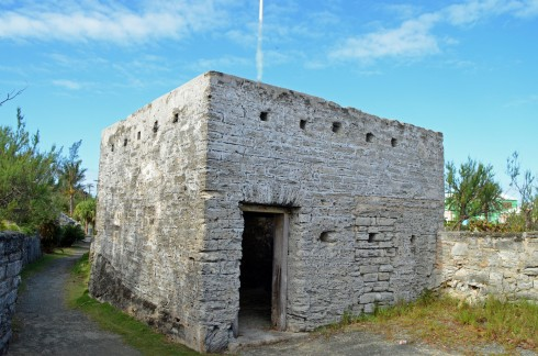 Gates Fort, First on Bermuda