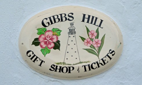 Gibbs Hill Sign