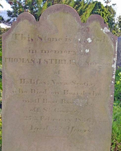 Halifax Surgeon's Grave