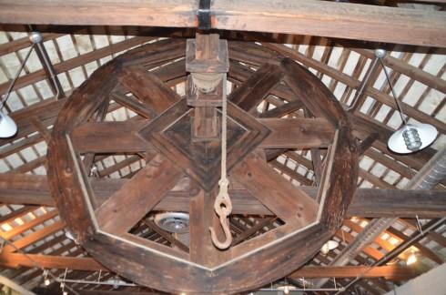 Hoist Wheel, World Heritage Museum