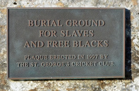 Black Burial Ground, St. Peter's Church