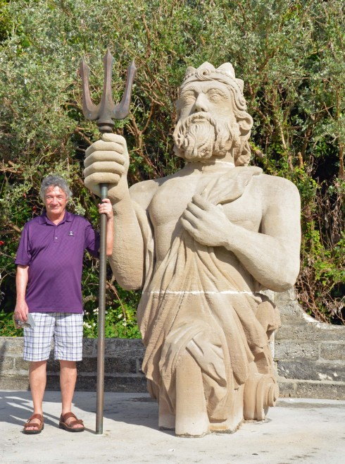 With King Neptune