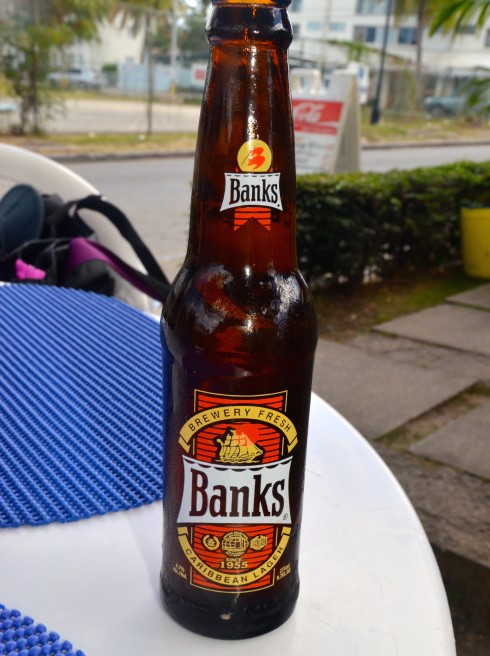 Banks, the beer of Barbados