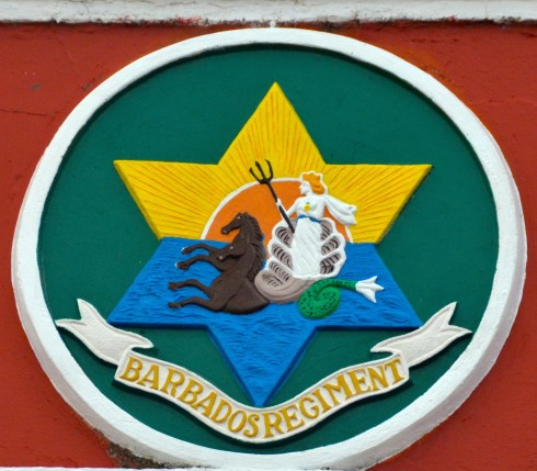 Barbados Regiment Crest