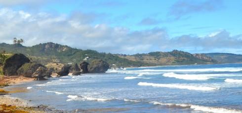 Touring Barbados - Bathsheba Beach