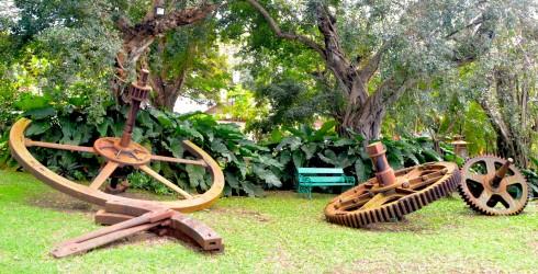 Big wheels, Nicholas Abbey, northern Barbados