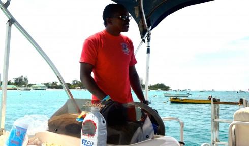 With Captain Randy heading to Carlisle Bay Barbados