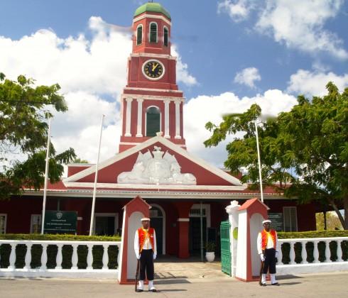 Clock Tower at Main Guard