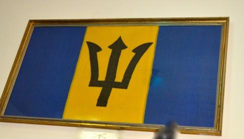 First Barbados Flag
