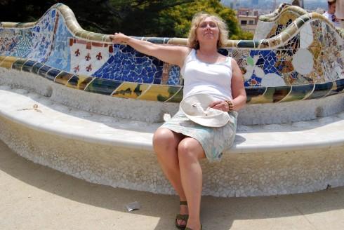 Gaudi park bench