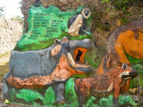 Hippo, Hyena & monkey