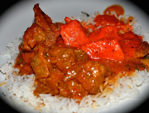 Lamb Curry w: Butter Chicken