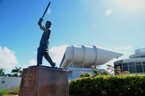 Statue of Sir Garfield Sobers at the Kensington Oval