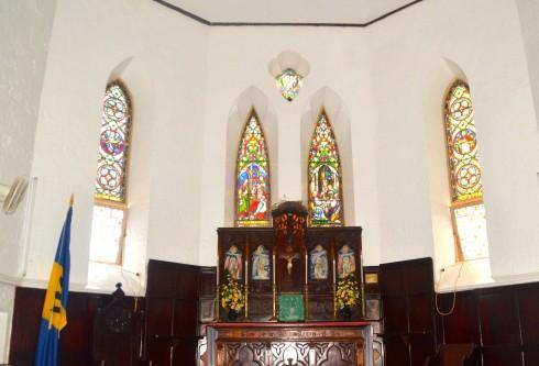 Touring Barbados - St. John Parish Church Interior