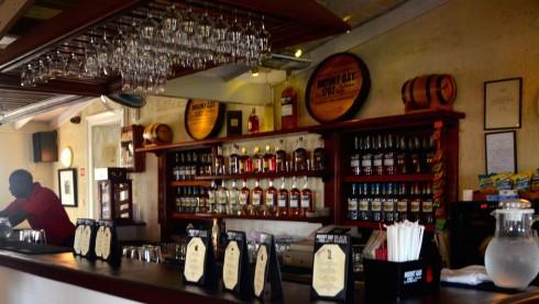 The Bar at Mount Gay
