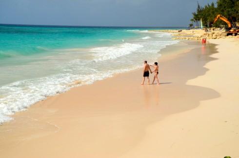 The beach at Bougainvillea