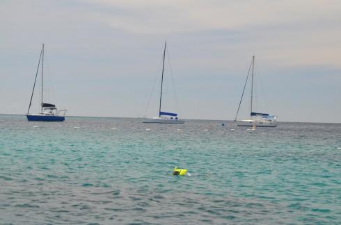 The wrecks to myself in Carlisle Bay Barbados