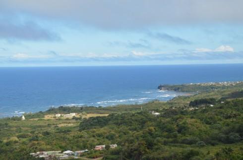 Touring Barbados - View from St. John Parish Church