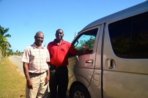 Touring Barbados with Wayne and Julian Alleyne
