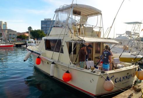 Cannon II, deep sea fishing in Barbados