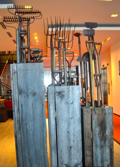 Farm implements, Hotel La Ferme