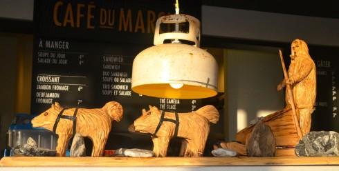 Folk Art, Cafe du Marche, Hotel La Ferme