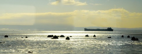 Freighter, St. Lawrence River