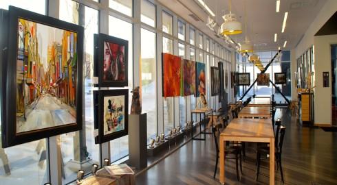 Iris Art Gallery, Hotel La Ferme