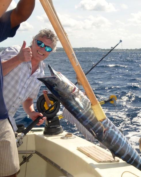 The jinx is broken - Deep Sea Fishing in Barbados