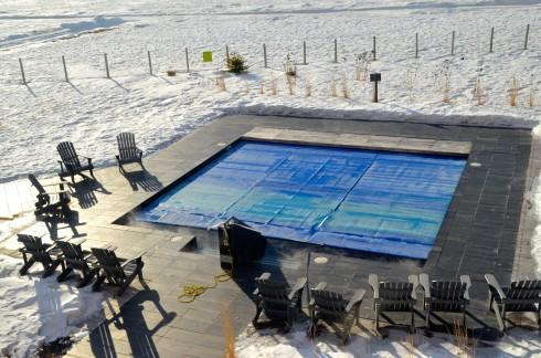 Outdoor Hot Pool, Hotel La Ferme