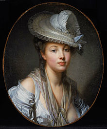 Lady in a White Hat