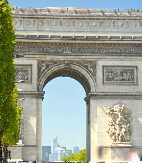 Arc de Triumphe on Liberation Tour 2015