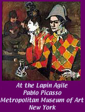 At the Lapin Agile by Picasso